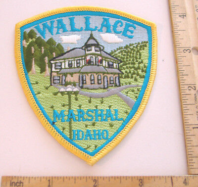 ~Wallace~Idaho Marshal Patch~