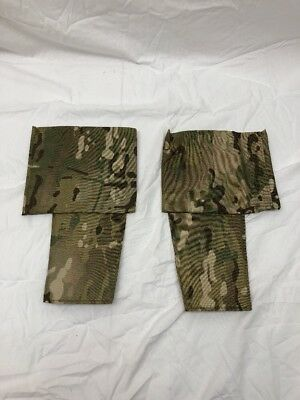 "Eagle Industries Multicam Side Plate Carrier Pockets for 4"" Elastic Cummerbund"