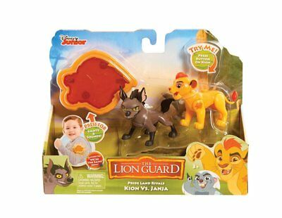 Disney Junior The Lion Guard Pride Land Rival Fuli vs Mzingo Figures w/ Arm Band