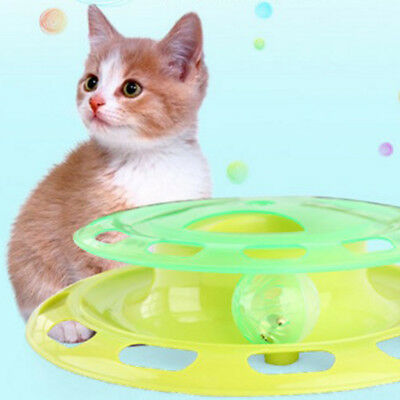 Cat Crazy Catch the Ball Mat Scratching Toy Board Chaser Toy Interactive Toy