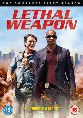 Lethal Weapon: The Complete First Season DVD (2017) Damon Wayans cert 15 4