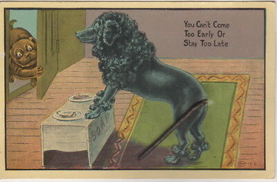 You Can't Come To Early Or Stay Too Late Post Card, Humorous Post Card