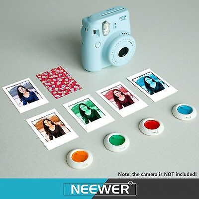 10 in 1 Camera Accessory Bundles Set for Fujifilm Instax Mini 8/8s Blue Neewer