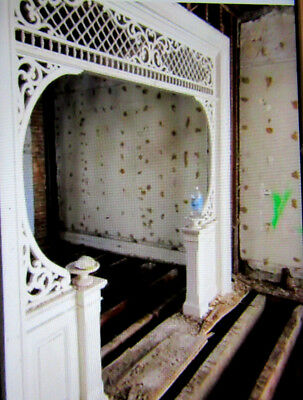 Antique Room Divider Fretwork Stick And Ball 107 X 109  ~ Architectural Salvage