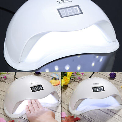 SunN5 48W LED UV Nail Lamp Led Nail Light Nail Dryer UV Lamp EU/US Plug#