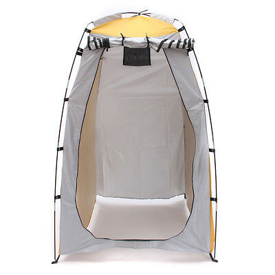 New Portable Pop Up Fishing & Bathing Toilet Changing Tent Camping Room Outdoor