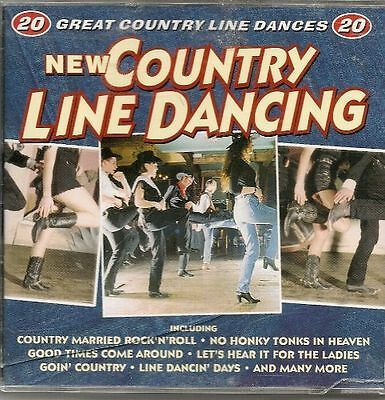 New Country Line Dancing, Various Artists CD , Acceptable, FREE & Fast Delivery