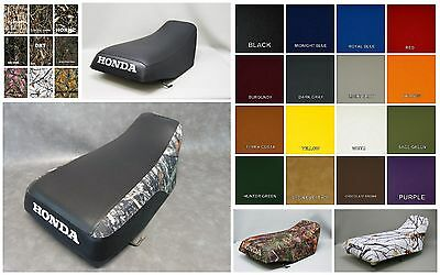 HONDA TRX450s Seat Cover Fourtrax Foreman 2001 2002 2003 2004 in 25 colors (ST)