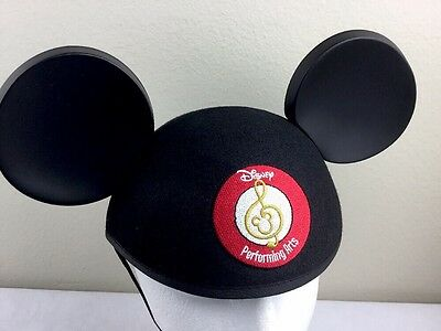 Disney Parks Mickey Mouse Ears Hat Performing Arts Disneyland Embroidered OS