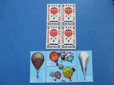Hot Air Balloons-the USPS stamps
