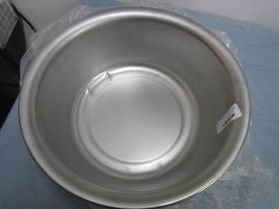 """VOLLRATH Stainless Steel Wash Basin 87340 13.5""""x5"""" New Other Ding"""