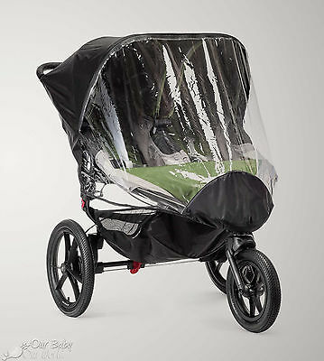 Baby Jogger Rain Canopy for Summit X3 Double Stroller - New! Free Shipping!