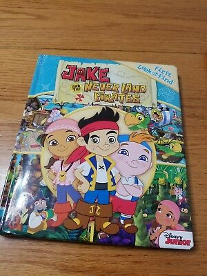 DISNEY Jake and the Neverland Pirates Look and Find Book