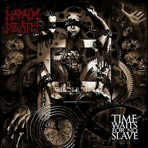 LP Napalm Death Time Waits For No Slave RED NEW OVP Supreme Chaos Records