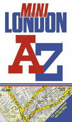 A-z Mini Street Atlas of London (Paperback)
