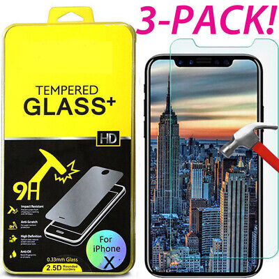 "Premium Real Tempered Glass Film Screen Protector for Apple 4.7"" iPhone 6 7 Plus"