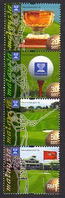 1999 MALAYSIA WORLD CUP GOLF CHAMPIONSHIP strip SG810a mint unhinged