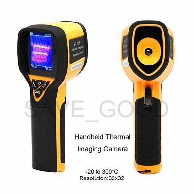 Handheld Thermal Imaging Camera 32x32 Resolution -4to 572°F Temperature Humidity