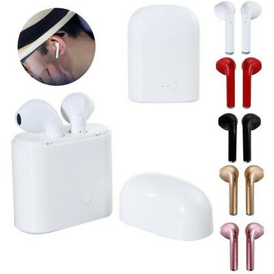 Wireless Bluetooth Headphones Stereo Headsets In-ear For Airpods iPhone 6 7 Plus