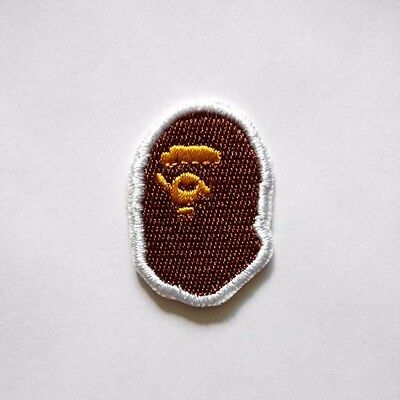 Bathing Ape Bape Embroidered Iron On Patch
