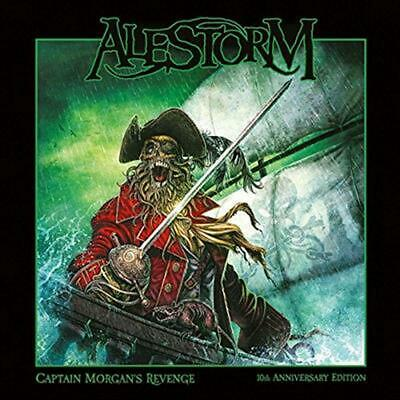 Captain Morgan's Revenge:10th Ann Ed - Alestorm Compact Disc Free Shipping!