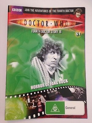 DOCTOR WHO Horror of Fang Rock R4 DVD Free Post #61
