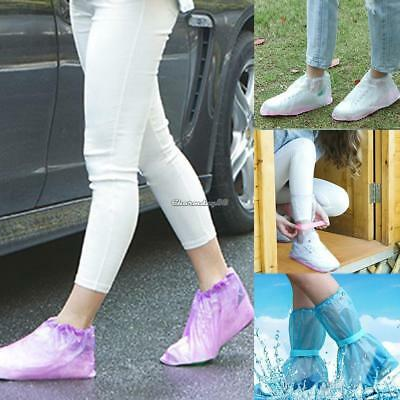 New Non-slip Waterproof Portable Outdoor Travel Slip Rain Boots Rain C1MY