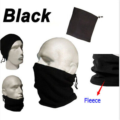Fleece Snood Scarf Neck Tube Warmer Thermal Motorcycle Bike Cover Cycling Mask