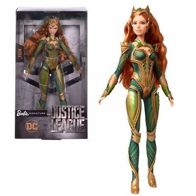 Mera | Mattel DYX58 | Collector | DC Justice League | Barbie Sammler Puppe