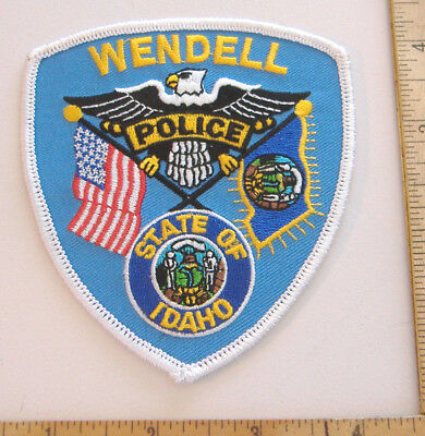 ~Wendell~Idaho Police Patch~
