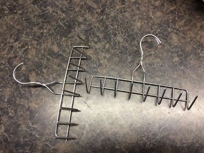 Heavy Duty Stainless Steel Smokehouse Bacon Hangers 9 Inch 8 Prong