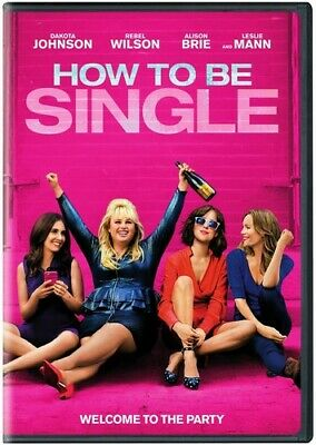 How To Be Single (Dvd, 2016) New