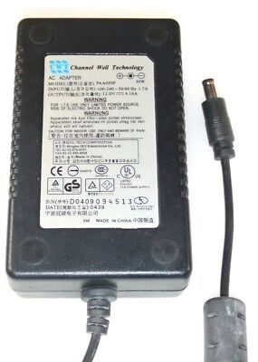 Genuine CWT LCD Monitor Power Supply PS PAA050F 12V 4.16A AC PSU Adapter Cable
