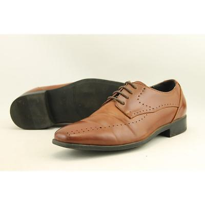 Stacy Adams Atwell Youth US 5 Brown Oxford Pre Owned  1369