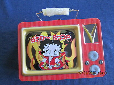 BRAND NEW in wrap BETTY BOOP lunch box T.V. Lil' Devil