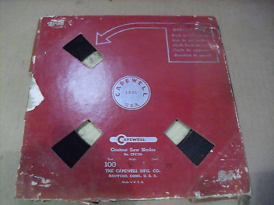 "Capewell 100 Ft Band Saw Blade Coil Of 3/16""  x 24 TPI  Carbon"