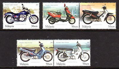 2003 MALAYSIA MOTORCYCLES & SCOOTERS SG1157-1161 mint unhinged