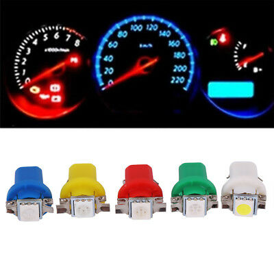 2/10X B8.5D Gauge 5050 1SMD LED Car Dashboard Dash Side Lights Bulbs Indicator