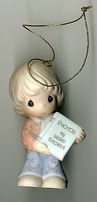 2008 Precious Moments Grandmother Your Memories Fill My Heart  NIB Orn 810028