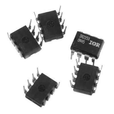 5 Pcs / lot Electrical Components IR2153P IR2153D IR2153 DIP8 Bridge Driver IC