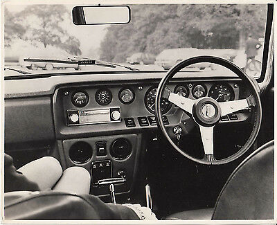 Reliant Scimitar Gte Dashboard Photograph.