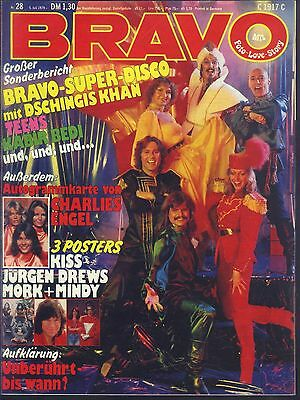 BRAVO Nr.28 vom 5.7.1979 Kiss, Jürgen Drews, Dire Straits, Dschingis Khan - TOP