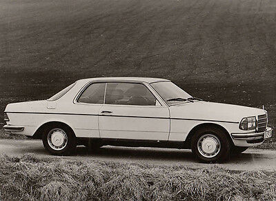 Mercedes Benz 280C Coupe 21.aug.1976. Period Photograph.