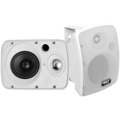 Waterproof Bluetooth 6.5'' Indoor/Outdoor Speaker System 800 Watt White Pair