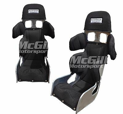 """Ultra Shield Adult Total Support Race Bucket Seat 20 Degree Size 14"""", 15"""" & 16"""""""