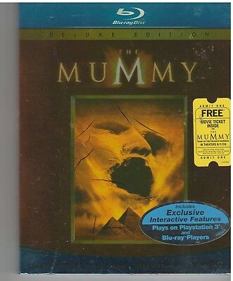 MUMMY 1 (Blu-ray Disc, 2008) WITH SLEEVE
