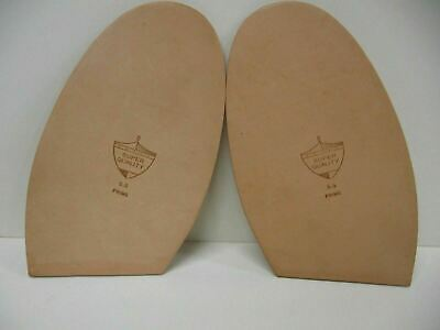 New Pair 5.5mm United States Oak Full Soles Tooling Leather Shoe Boot Repair