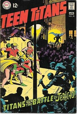 Teen Titans Comic Book #20 DC Comics Neal Adams Art 1969 FINE+