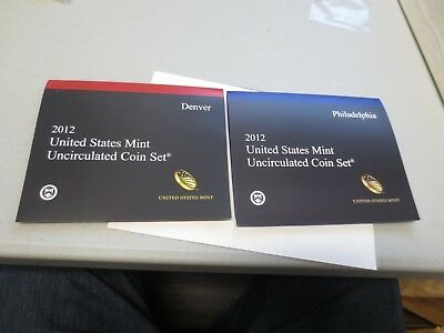 2012 United States Mint UNCIRCULATED Coin Set (Key Date)
