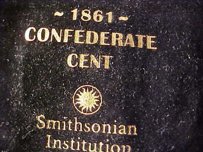 Smithsonian Restrike Confederate Cent 1861/2011 Ngc Proof With Pouch